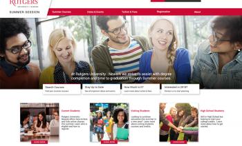 Web Design for University