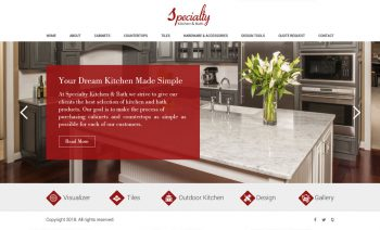 Web Design for Marble & Tiles Manufacturer