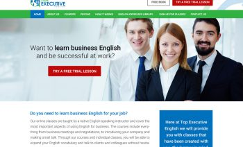 Web Design - Professional English Coaching