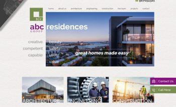 Website Design - Building & Constructions